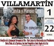 Cartel concierto 1 Septiembre
