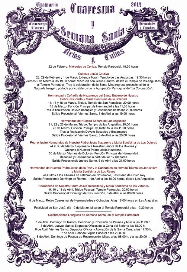Programa de Cultos